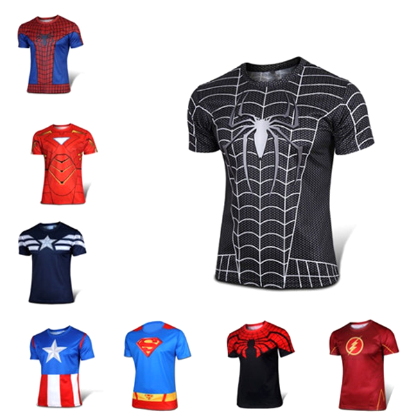 Superhero Fitness Tee - BoardwalkBuy - 1