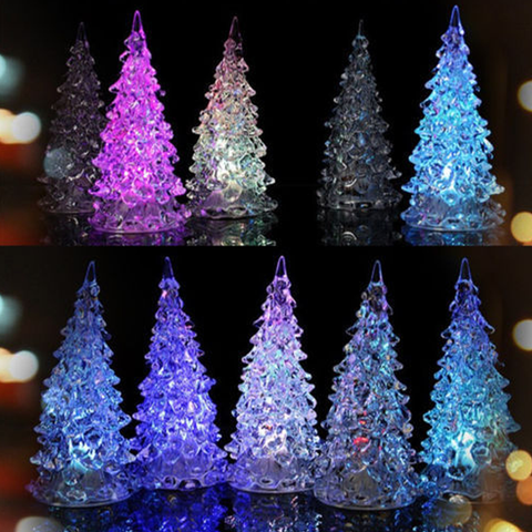 LED Crystal Christmas Tree