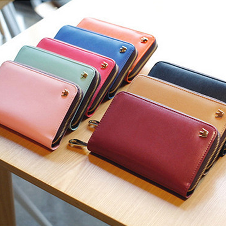 Zip Around Smartphone Wallet - Assorted Colors - BoardwalkBuy - 1