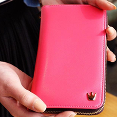 Zip Around Smartphone Wallet - Assorted Colors - BoardwalkBuy - 4