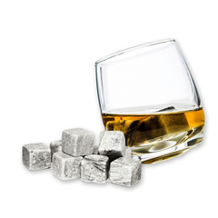 9 Pack Multi-Colored Whiskey Ice Stones - BoardwalkBuy - 2