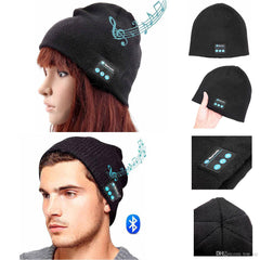 Unisex Bluetooth Beanie Headphones with Built-in Speakers & Bluetooth - BoardwalkBuy - 2