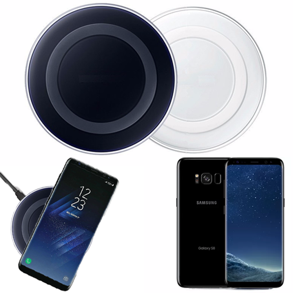 Wireless Charger Charging Pad for SAMSUNG GALAXY S8 Series / S7 Series / S6 Series