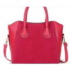 Women Nubuck Leather Handbag - BoardwalkBuy - 3