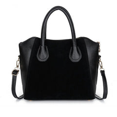 Women Nubuck Leather Handbag - BoardwalkBuy - 1