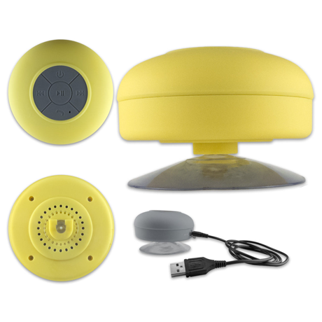 Bluetooth Shower Speaker - Assorted Colors - BoardwalkBuy - 4