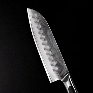 Santoku Knife - 5 inches - 73 Layers Damascus Cut Japanese VG 10 Core Steel Blade