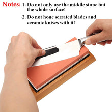 Load image into Gallery viewer, 2 Piece Knife Sharpener Set - Professional Whetstone Sharpening Stone