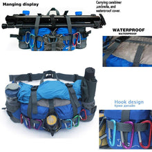 Load image into Gallery viewer, Professional 800D Outdoor Waist Pack - Bicycle Bits