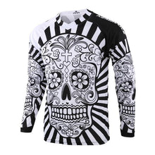 Load image into Gallery viewer, Skull Long Sleeve MTB Jersey