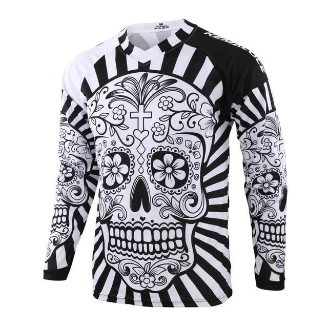 Skull Long Sleeve MTB Jersey