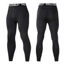 Load image into Gallery viewer, Men Compression Leggings - Bicycle Bits