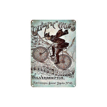 Load image into Gallery viewer, Cycle Tin Sign - Simplicity - Bicycle Bits