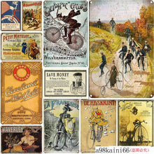 Load image into Gallery viewer, Cycle Tin Sign - Bicycle Bits