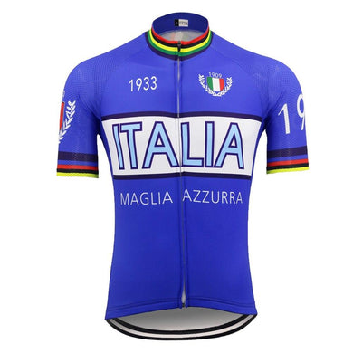 Retro Style National Cycling Jersey