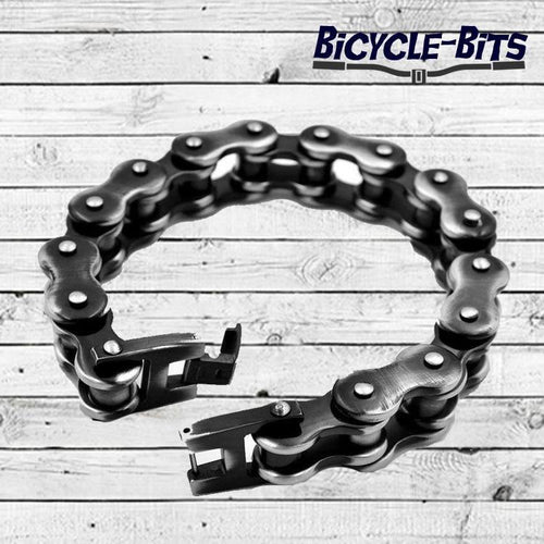Stainless Steel Chain Bracelet - Bicycle Bits