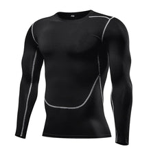 Load image into Gallery viewer, Men Compression Long Sleeve T-Shirt - Bicycle Bits