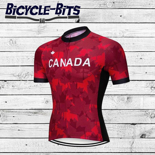Canada Cycling Jersey - Bicycle Bits