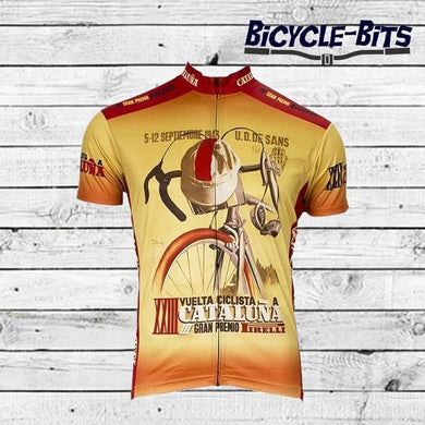 Cataluna 1943 Cycling Jersey - Bicycle Bits
