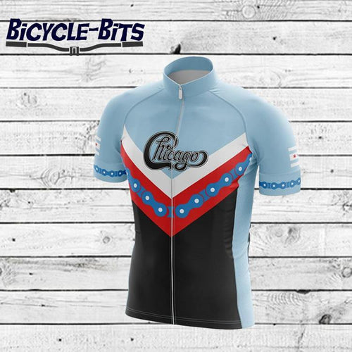 Chicago Cycling Jersey - Bicycle Bits