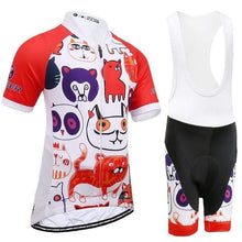 Load image into Gallery viewer, Children's Anti-UV Cycling Jersey Set - Bicycle Bits