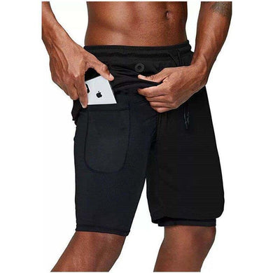 2 in 1 Running Shorts - Bicycle Bits