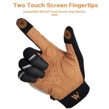 Load image into Gallery viewer, Bicycle Bits Anti-slip Shock Absorbing Full Finger Cycling Gloves