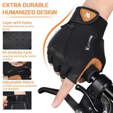 Load image into Gallery viewer, Anti-slip Full Finger Cycling Gloves - Bicycle Bits