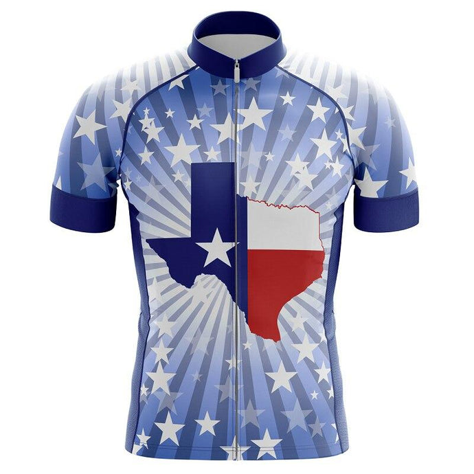 Men's Texas State Cycling Jersey - Bicycle Bits