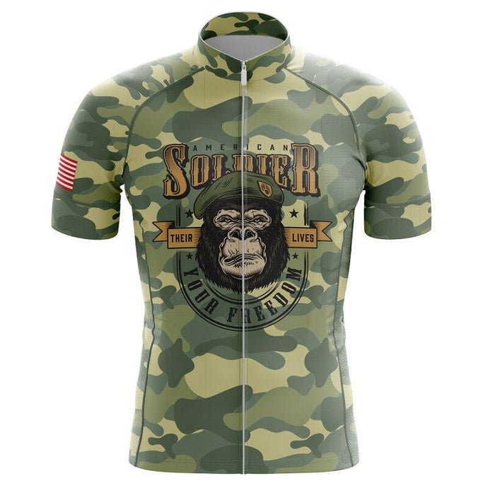 Veteran Soldier Cycling Jersey - Bicycle Bits