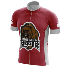Load image into Gallery viewer, Montana Grizzlies Cycling Jersey - Bicycle Bits