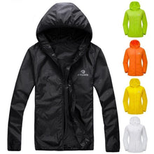 Load image into Gallery viewer, Bicycle Bits Unisex Lightweight Waterproof Hooded Cycling Windcoat