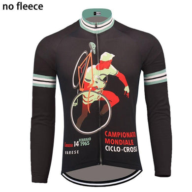 Classic 1965 Long Sleeve Cycling Jersey - Bicycle Bits