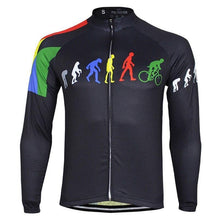 Load image into Gallery viewer, Long Sleeve Cycling Jersey - Bicycle Bits