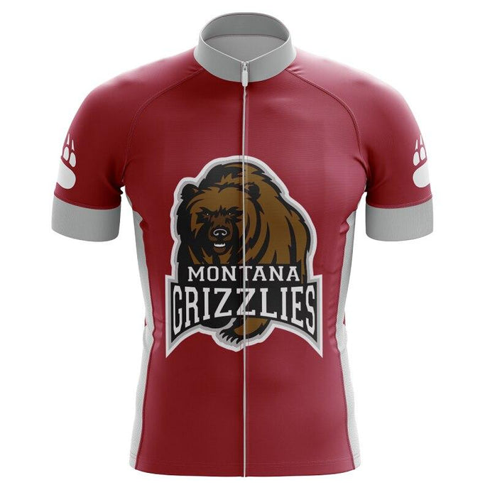 Montana Grizzlies Cycling Jersey - Bicycle Bits