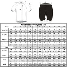 Load image into Gallery viewer, Men's Santa Sleigh Short Sleeve Cycling Jersey - Bicycle Bits