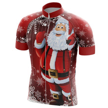 Load image into Gallery viewer, Men's Christmas Santa Clause Cycling Jersey - Bicycle Bits