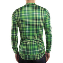 Load image into Gallery viewer, Men's Tartan Long Sleeve Jersey - Bicycle Bits