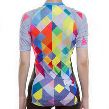 Load image into Gallery viewer, Women's Geometry Cycling Jersey - Bicycle Bits