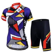 Load image into Gallery viewer, Women's Cycling Jersey Set