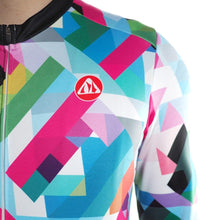 Load image into Gallery viewer, Men's Geometric Long Sleeve Jersey - Bicycle Bits