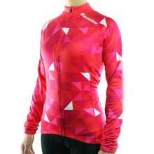 Load image into Gallery viewer, Women's Thermal Fleece Triangle Jersey - Bicycle Bits