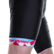 Load image into Gallery viewer, Pro Team Geometric Mens Cycling Bib Shorts