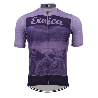 Eroica Purple Retro Jersey - Bicycle Bits