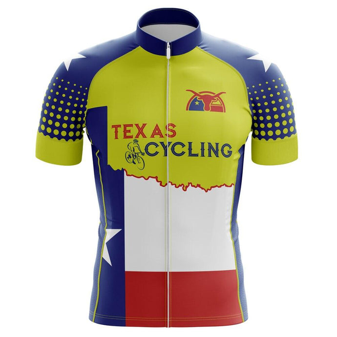 Men's Texan Horn Cycling Jersey - Bicycle Bits