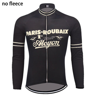 PARIS-ROUBAIX Long Sleeve Cycle Jersey