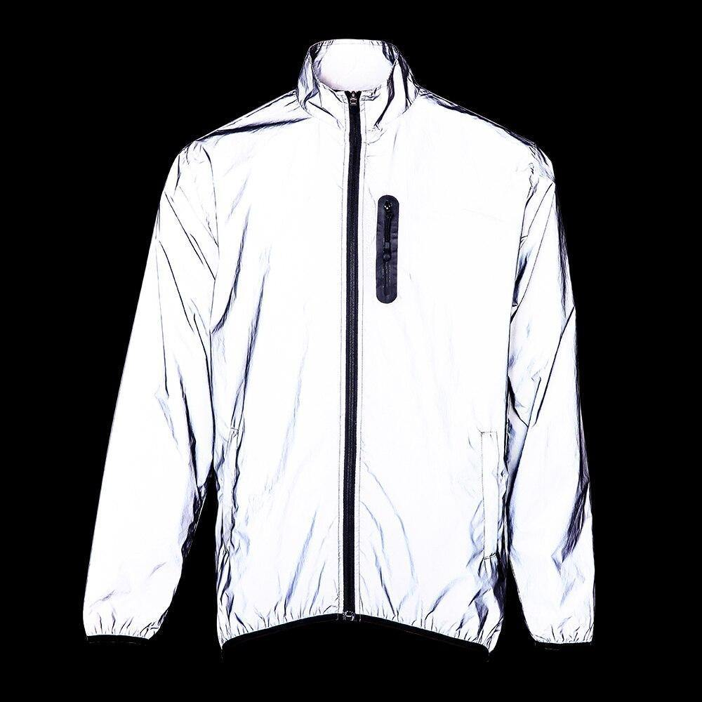 Highly Reflective Cycling Jacket - Bicycle Bits
