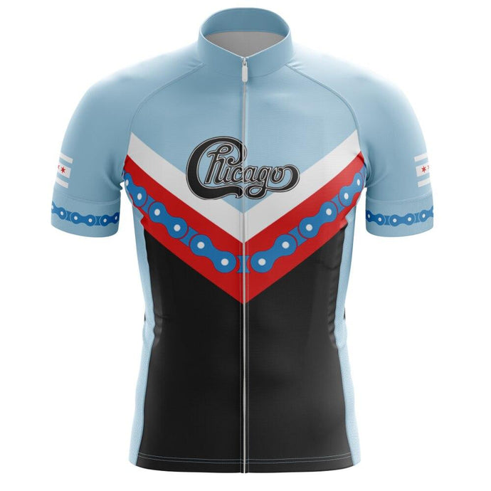 Men's Chicago Cycling Jersey - Bicycle Bits