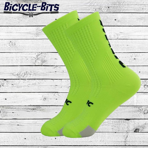 Single Colour Cycle Socks - Bicycle Bits