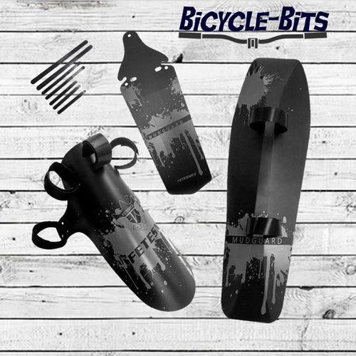Bicycle Bits Bike Fender Set with Installation Tools Mudguard Kit